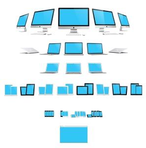 57种不同的苹果手机电脑设备VI样机展示模型mockups插图2