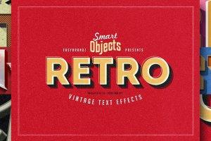 12款复古文本图层样式v1 Retro Text Effects Vol.01插图12