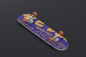 极限运动滑板图案设计样机 Skateboard Mockup插图12