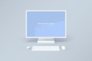 微软一体机Surface Studio样机模板v2 Microsoft Surface Studio Mockups v.2 – Photoshop插图3