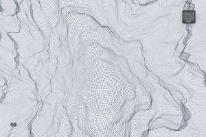 抽象网络信号波纹图案PS笔刷 Network Turbulence Photoshop Brushes插图7