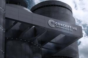 高品质的公司企业3D立体logo标志样机展示模型mockups插图4