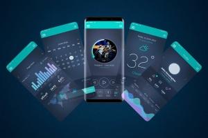 三星智能手机S9设备动态样机模板v2 Animated S9 MockUp V.2插图1