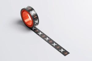 管道胶带印花印刷图案样机模板 Duct Tape Mock-up插图2