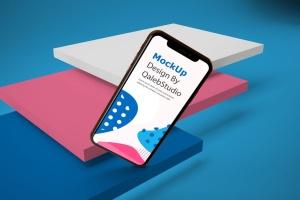 iPhone XS智能手机UI设计预览样机V2 iPhone XS V.2插图6