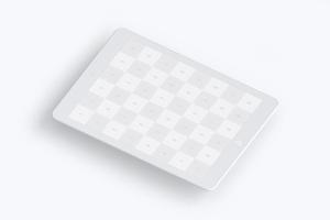 iPad平板电脑屏幕界面设计图样机模板02 Clay iPad 9.7 Mockup 02插图3