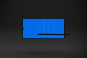 Note 10大屏手机屏幕预览样机模板 Dark Note 10 Mockup插图12