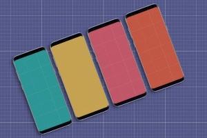 三星智能手机S9应用程序演示设备样机 S9 Mockup插图11