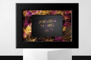 创意水彩金箔PS图层样式[1.1GB] Watercolor and Gold Layer Styles PS插图26
