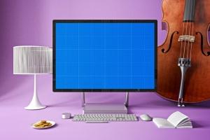 办公室场景微软一体机Surface样机模板合集 Surface in Studio插图10
