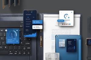 个性化APP&网站设计效果预览样机 App / UI Kit Mockups插图3