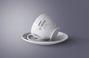 陶瓷茶杯咖啡杯外观设计样机模板v2 Cup Mockup 2.0插图3