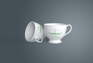 陶瓷茶杯咖啡杯外观设计样机模板v2 Cup Mockup 2.0插图2