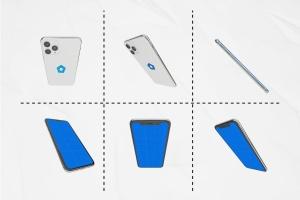 多角度全方位视觉iPhone 11手机样机模板 iPhone 11 Kit插图5