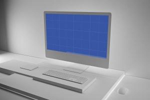 极简设计风格iMac一体机电脑样机v2 Clean iMac Pro V.2插图12