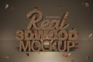 炫酷金属3D特效PSD样机模板v1 Real 3D text Mockups V1插图3