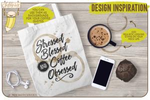 创意Procreate专用画笔素材-水彩戒指和滴水印章插图4