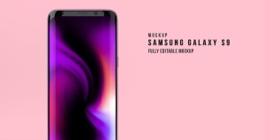 三星Galaxy S9安卓手机样机模板 Samsung Galaxy S9 Mockup插图2