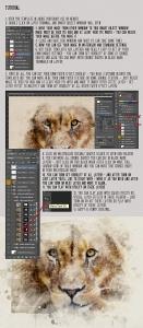 独特的水彩照片效果生成器PSD分层模板 The Ultimate Watercolor Creator 4插图2
