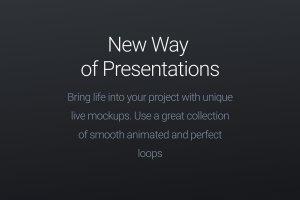 Apple设备动态样机合集[酷黑版本] Looped Animated Mockups   White插图2