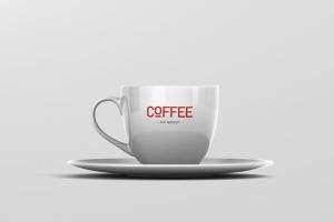 逼真咖啡杯马克杯样机模板 Coffee Cup Mockup插图9