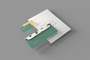 品牌VI体系设计效果图预览样机模板 Branding Stationery Mockups插图4