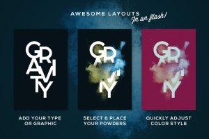 叹为观止的彩色粉末图层样式 POWDR – Black Edition插图2