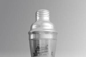 冷饮品牌设计样机模板[不锈钢冰摇杯/马克杯/玻璃杯/纸袋] Branded Products Mock-up V2插图6