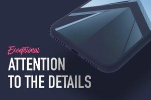 一流设计素材网下午茶:7款最受欢迎的iPhone X Clay模型 Mockups插图3