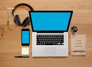 响应式网页设计预览样机套件 Responsive Mock-Up Web Display Kit插图13