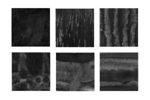 30款墨水印刷纹理肌理PS笔刷v3 30 Ink Texture Photoshop Brushes Vol. 3插图3