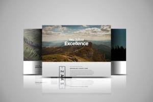 网站设计3D立体演示效果图样机模板 Web Themes Mock ups插图3