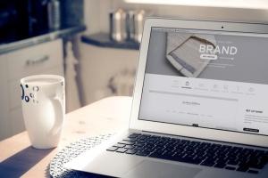 Web应用程序UI设计展示笔记本电脑样机 Laptop Display Web App Mock-Up插图3