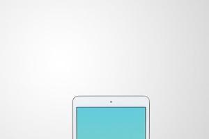 手持iPad Mini设备演示样机模板 iPad Mini Studio Mockups插图8