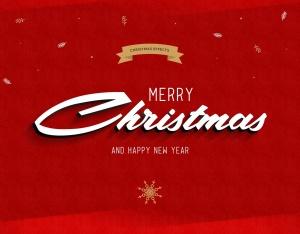 圣诞节主题海报文字样式PSD分层模板 Christmas Text Effects插图3