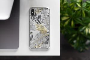 iPhone Xs透明手机壳外观设计效果图样机v2 iPhone Xs Clear Case Mock-Up vol.2插图2