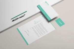 企业品牌办公文具等距样机模板 Branding / Identity Mock-up插图5