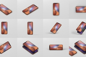 高品质iPhone XR智能设备样机 Phone XR Mockup插图15