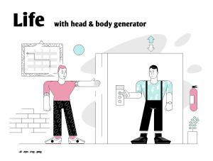 一流设计素材网下午茶:个性的生活场景插画素材下载[Ai]插图1