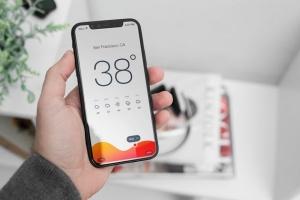高清逼真实景iPhone X样机模板合集 iPhone X Mock-Up Office Style插图6