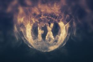 大气烟雾萦绕字体特效PSD分层模板 Smoke Logo Text Effect插图2