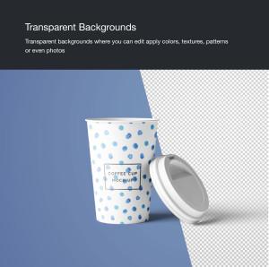 7个咖啡纸杯设计图PSD样机模板 7 PSD Coffee Cup Mockups插图9