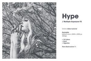 炫酷多重曝光效果照片处理PS图层样式 Hype | Multiple Exposure FX插图6