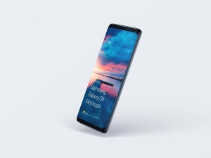 超级主流桌面&移动设备样机系列:Samsung Galaxy S9  三星智能手机样机 [兼容PS,Sketch;共2.11GB]插图3