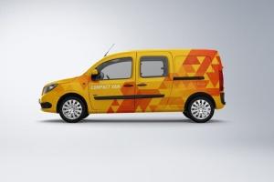 紧凑型厢式小货车样机 Compact Van Mock-up插图3