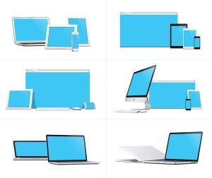 57种不同的苹果手机电脑设备VI样机展示模型mockups插图5