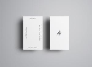 商业/个人名片设计样机模板插图7