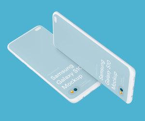 三星智能手机S10超级样机套装 Samsung Galaxy S10 Mockups插图20