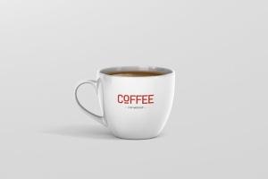 逼真咖啡杯马克杯样机模板 Coffee Cup Mockup插图7