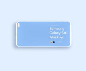 三星智能手机S10超级样机套装 Samsung Galaxy S10 Mockups插图12